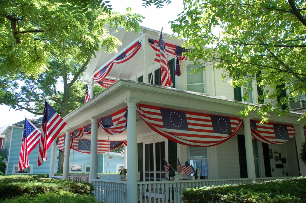 Decorating With Red White And Blue