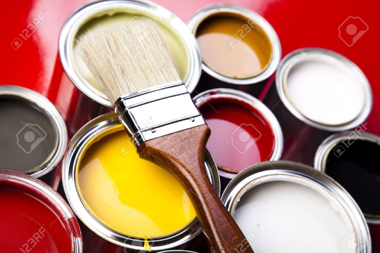 Damaged Cans Of Paint For Sale